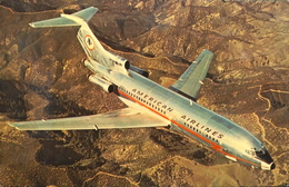 CPA. - ETATS-UNIS - AMERICAN AIRLINES - Avion JET 727 En Vol - TBE - Aéroports