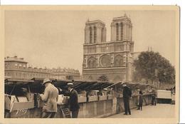 Paris - Les Bouquinistes Du Quai Saint Michel - Artesanos De Páris
