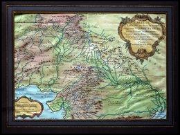 Indien: Bengalen, Carte De L`Inde En Deca Du Gange Comprenant L` Indoustan, Kolorierter Kupferstich Von M. Bellin Aus Ca - Karten