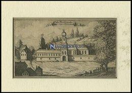 RIEDENBURG: Kloster Altmühlmünster, Kupferstich Von Ertl, 1687 - Lithographien