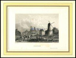 SOLINGEN, Gesamtansicht, Stahlstich Von Verhas/Winkles Um 1840 - Lithographien