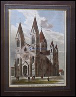 STUTTGART: Die Neue Garnisionskirche, Kolorierter Holzstich Aus über Land Und Meer Um 1880 - Lithographien