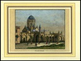 STUTTGART: Praz, Kol. Holzstich Von Clerget Um 1880 - Lithographien