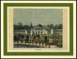 STUTTGART: Die Wilhelma, Kolorierter Holzstich Von Clerget Um 1880 - Lithographien