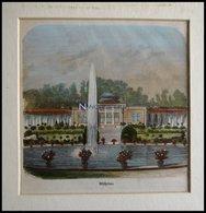 STUTTGART: Die Wilhelma, Kolorierter Holzstich Von Mauch Und Kunz, 1866 - Lithographien
