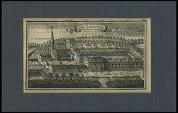 TUNTENHAUSEN: Kloster Beyhartung, Kupferstich Von Ertl, 1687 - Lithographien