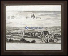 KLEIN-VAHLBERG, Gesamtansicht, Kupferstich Von Merian Um 1645 - Lithographien