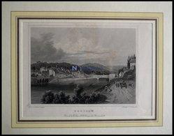 EGLISAU, Gesamtansicht, Sta-St Von Lange/Umbach Um 1840 - Lithographien