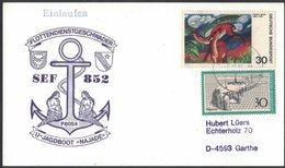 AN134    Siren, Sirena - German Marine, U-hunting Boat Najade, Postcard 1995 - Mitologia
