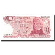 Billet, Argentine, 100 Pesos, Undated (1976-78), KM:302a, SUP - Argentine