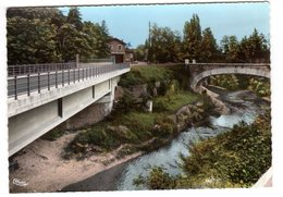 CPSM Photo Saint Barthélemy De Vals Et St Uze Drôme 26 La Galaure Au Pont éditeur Combier CIM N°32 - Other Municipalities
