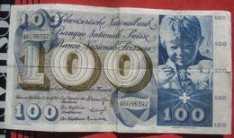 100 Franken 1964 (WPM 49f) - Switzerland