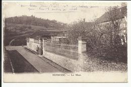 SERMOISE , Le Mont , CPA ANIMEE , 1916 - Frankreich