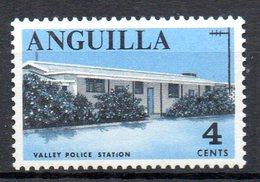 ANGUILLA. N°4 De 1967-68. Station De Police. - Police - Gendarmerie