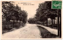 CPA Guîtres 33. Avenue De La Gare. 1914 - France
