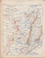 1 Napoléon 1814 Plan Passage Du Rhin - Documents Historiques