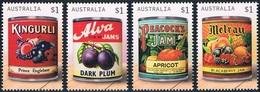 Australie - Anciennes étiquettes De Boîtes De Confiture 4574/4577 (année 2018) ** - 2010-... Elizabeth II