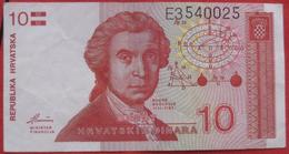 10 Dinara 1991 (WPM 18) - Croatia