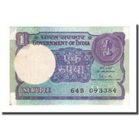 Billet, Inde, 1 Rupee, Undated (1983-84), KM:78Ad, SUP - Inde