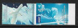 Australian Antarctic Territory SG190-191 2009 Poles & Glaciers Set 2v Complete Unmounted Mint [4/4003/6D] - Unused Stamps