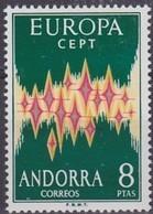 Spaans Andorra Espagnol Andorre Cept 1972 Yvertn° 64A *** MNH Cote 135 Euro - Andorre Espagnol
