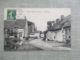 CPA  51 FAUX FRESNAY RUE BASSE ANIMEE - Frankrijk