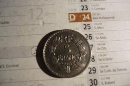 Pièces De 5 Francs 1935 En Nickel S U P - France