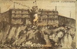 CPA. Militaria > Guerre 1914-18 - Le Lion S'impatiente Après Agadir - BE - Humoristiques