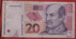 20 Kuna 2001 (WPM 39) - Croatie