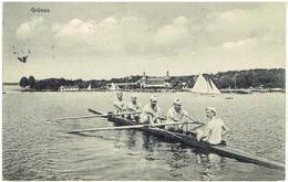 GRÜNAU - Berlin - Treptow - Segelboote Auf Dem Langen See Beim Haus Des Segel-Club - Treptow