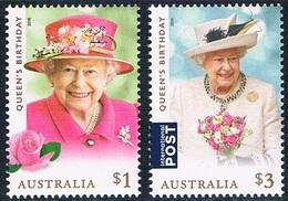 Australie - 92e Anniversaire De S. M. Elizabeth II 4601/4602 (année 2018) ** - 2010-... Elizabeth II