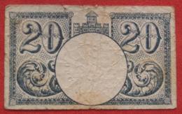 Croatia Notgeld - Split 20 Krunskih Helera 1919 - Croazia