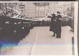 15 Vlaamse Collaboratie. Vertrek Van Vlaamse Matrozen Naar De Kriegsmarine. Repro. - 1939-45