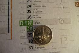 Monnaie D'Allemagne De 1 Deutsche Mark 1956 Lettre G En S U P - - [ 7] 1949-… : FRG - Fed. Rep. Germany