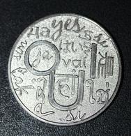 """Médaille Monnaie De Paris """"Oui / Non"""" - Unclassified"""