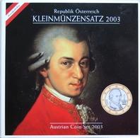 0451 - COFFRET BU AUTRICHE - 2003 - Austria