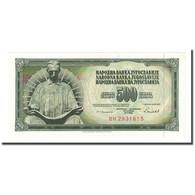 Billet, Yougoslavie, 500 Dinara, 1986-05-16, KM:91c, NEUF - Yougoslavie