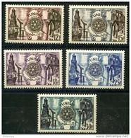 Tunisie (1955) N 390 à 394 * (charniere) - Nuevos