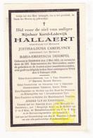 DP Opziener Voorzitter Stichter Ypriana - Karel L. Hallaert ° Beernem 1853 † Ieper 1929 X J. Camerlynck Xx M. Desimpel - Images Religieuses