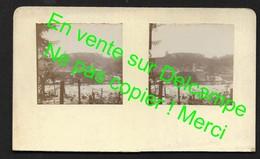 Pierre Percée - Près De Badonviller Lunéville Baccarat Meurthe Et Moselle - 2 Photos Stéréoscopiques 4X4 Cm  (No CP) - Baccarat