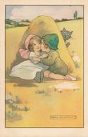 COUPLE D'ENFANT ( ILLUSTRATEUR AGNES RICHARDSON ) - Illustrateurs & Photographes