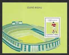 Guinée-Bissau Bloc Football Jeux Olympiques Atlanta 1996 ** Guinea Bissau Olympic Games Soccer ** - Neufs