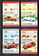 Tuvalu Funafuti - Auto: Berline E Sportive. Cars: Sedans And Sports..Triumph,Cord,Morgan, Jaguar. MNH Complete Series - Automobili