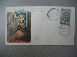 FDC  1965  Saint-Denis (Réunion)  Saint-Flour - Briefe U. Dokumente