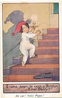 I CAME DOWN TO CATCH A BURGLAR I MET DADDY !! ( ILLUSTRATEUR AGNES RICHARDSON ) - Illustratori & Fotografie