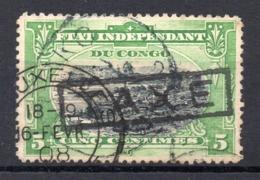 BELGISCH CONGO: COB TX 1 GESTEMPELD - Portomarken: Gebraucht
