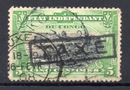BELGISCH CONGO: COB TX 1 GESTEMPELD - Taxe: Oblitérés