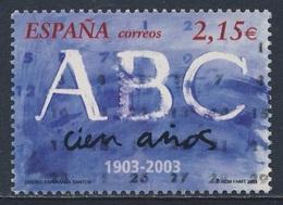 "Spain Espana 2003 Mi 3819 SG 3935 ** Cent. ""ABC"" (1903), Madrid - Daily Newspaper / Tageszeitung / Journal / Dagblad - 1931-Tegenwoordig: 2de Rep. - ...Juan Carlos I"