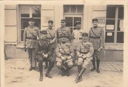 Braine (Aisne) - Militaires Devant La Maison Du Combattant - 28 Avril 1929 - Personnes Identifiées