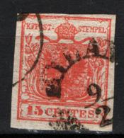 Lombardo Veneto 1850 Sass.14 Usato/Used VF/F - Lombardo-Veneto